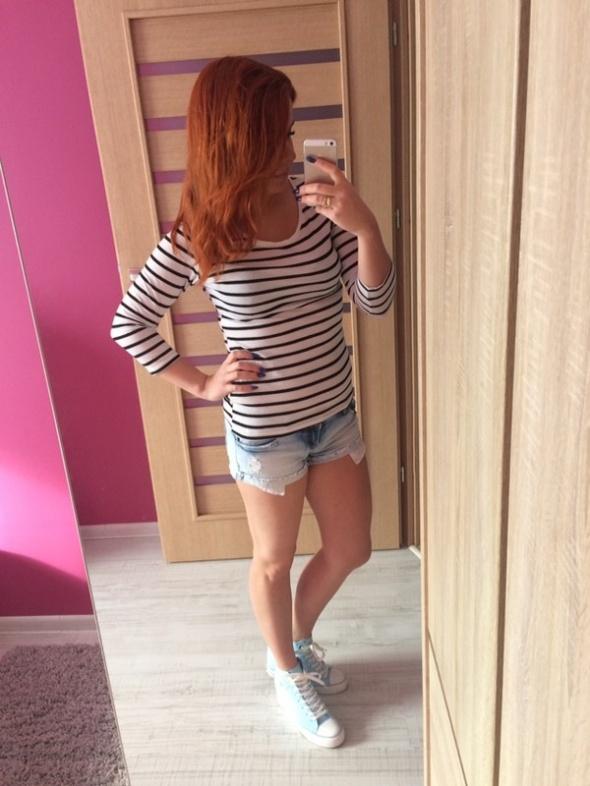 Jeansowe szorty Tally Weijl...