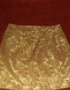 złota spódnica