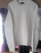 biała bluza zara man...