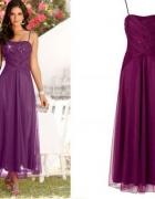 sukienka w kolorze fioletowym 46...