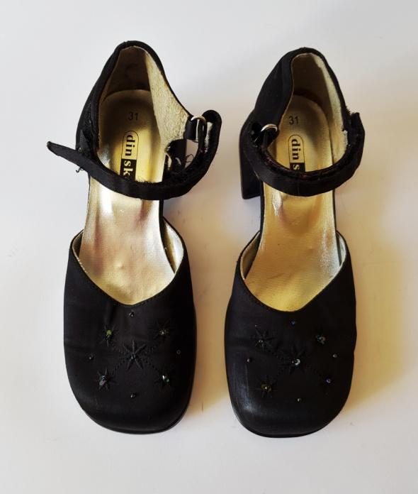 DINSKO Szwedzkie bardzo eleganckie sandałki dziewczęce R 31...