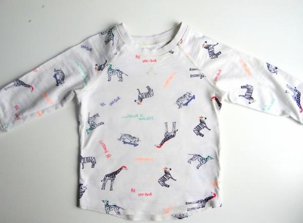 Bluzki Bluzka na długi rękaw H&M rozmiar 86