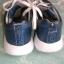 est 1842 niebieskie adidasy sneakersy 40 metaliczne skór naturalna
