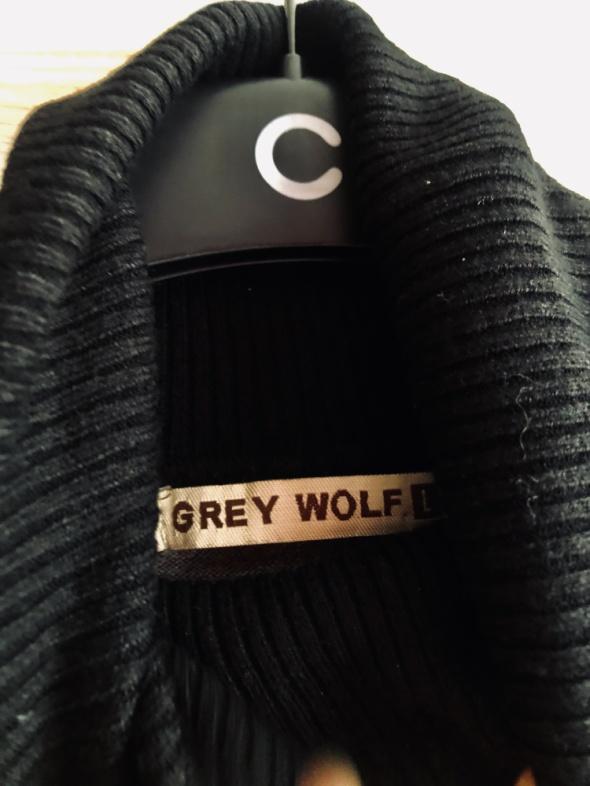 GREY WOLF nowy bez metki golf KHAKI zielony szary czarny wygodny na zimę 36 S 38 M 40 L