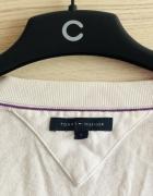 Tommy Hilfiger biały kardigan zapinany na guziki oryginalny S 3...