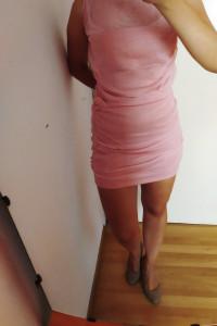 Różowa bandażowa sukienka 38 NOWA