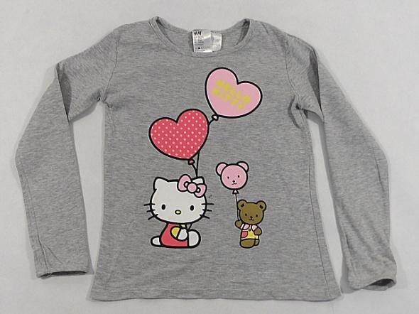 Bluzki H&M Hello Kitty bluzka dziewczeca 7 lat