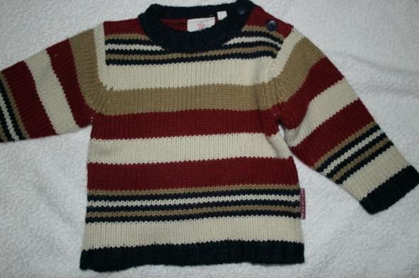 Pozostałe Sweterek w pasy 74