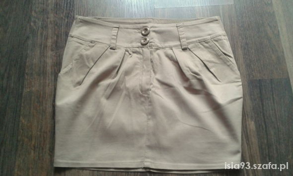 Spódnice spódniczka brązowa s