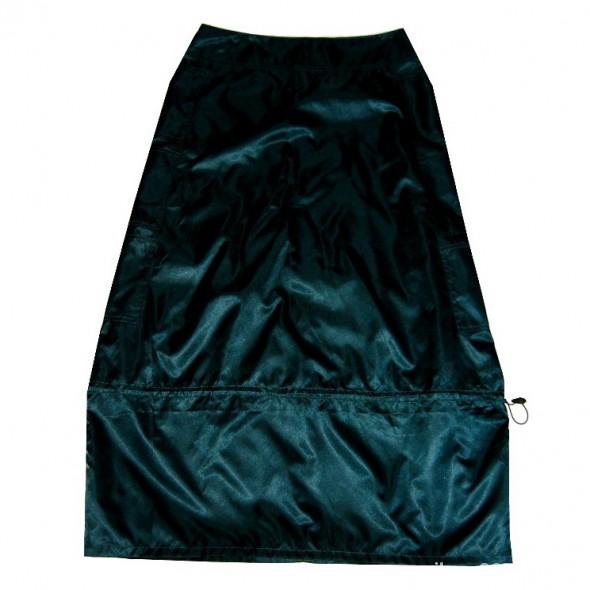 Wieczorowa Długa Zielona Spódnica L XL