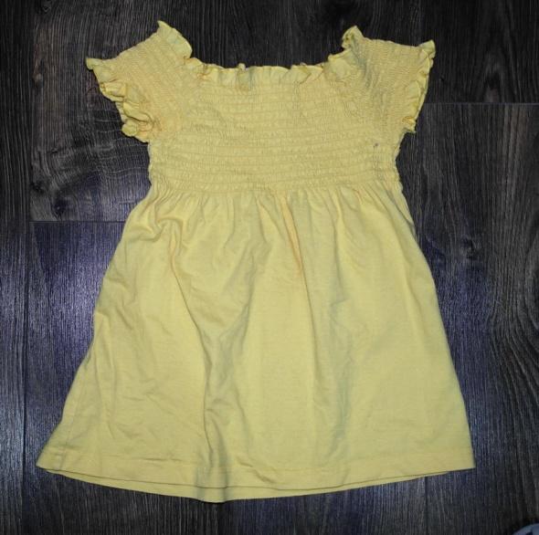 Bluzki Słoneczna bluzeczka krótki rękaw 110