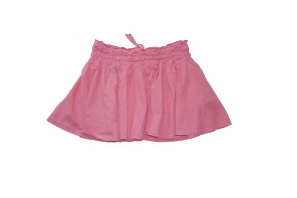 Sukienki i spódniczki Spódniczka mini na lato różowa ze srebrną nitką146