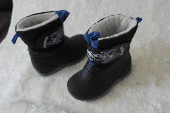 Buty zimowe z odblaskami 24...