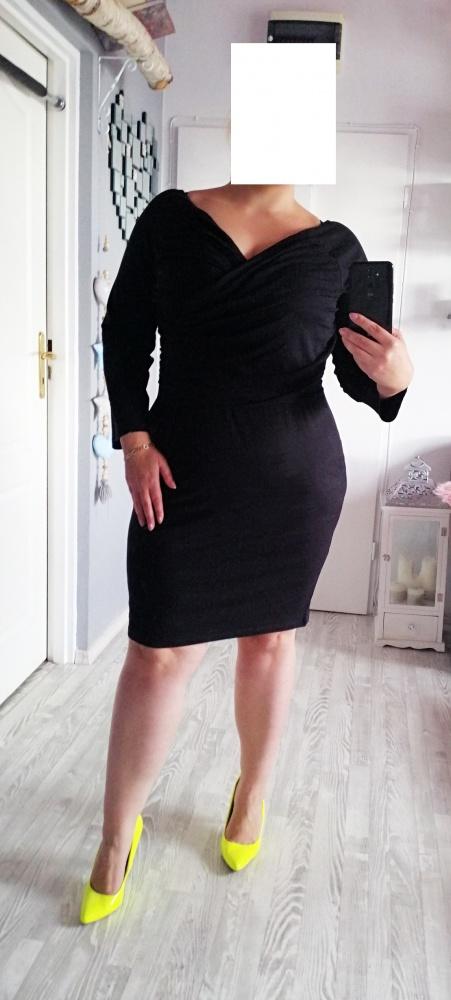 Nowa sukienka mała czarna 50 52 54