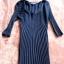 Czarna dzianinowa sukienka r S