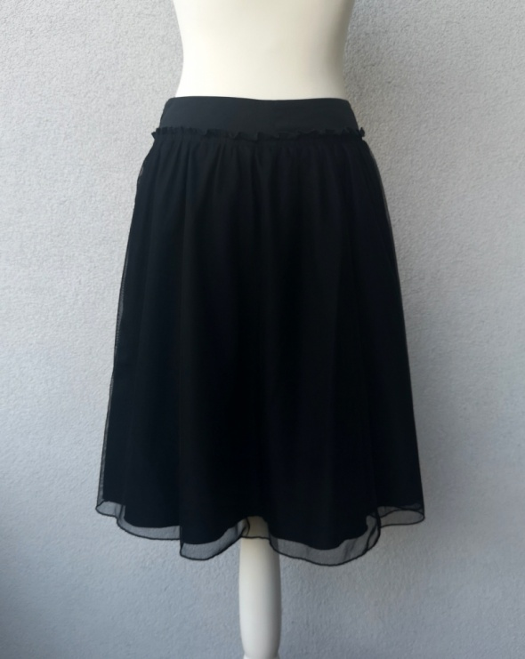 Spódnice spódnica tiulowa czarna S