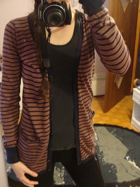 KUYICHI sweterek pasiak S M