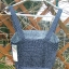 Nowa granatowa sukienka w groszki na ramiączkach Cropp S 36