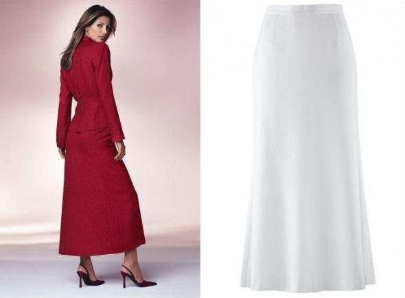 Spódnice Spódnica biała Nowa