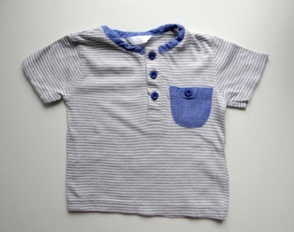 Bluzki Bluzka na krótki rękaw rozmiar od 6 do 9 miesięcy