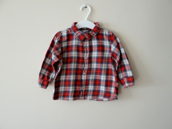 Koszulki, podkoszulki Koszula w kratkę rozmiar 80
