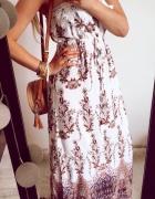 Sukienka Damska boho długa S...