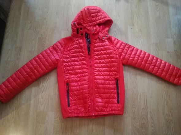 Geographical Norway ciepła kurtka żywa czerwień rozmiar XL