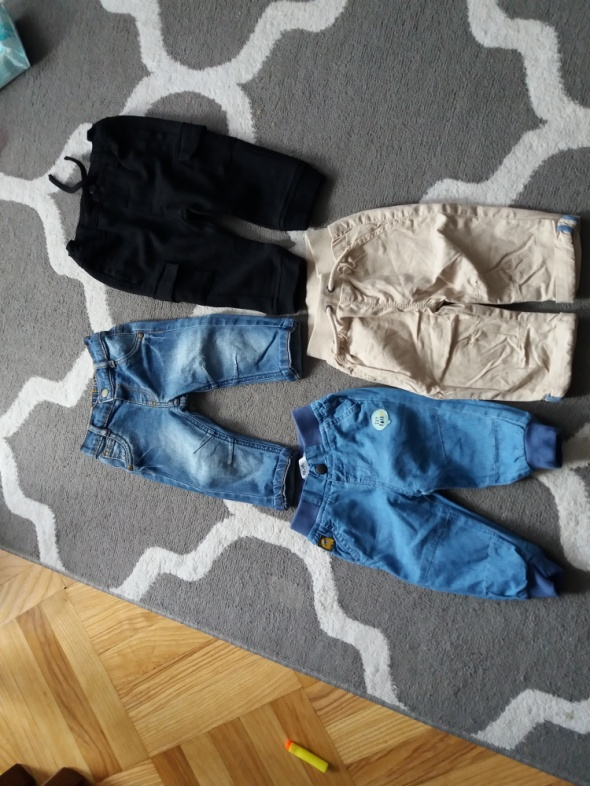 Spodnie chłopiec 68cm