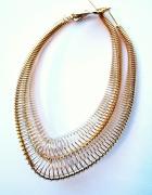 kolczyki złote srebrne wiszące sprężynki...