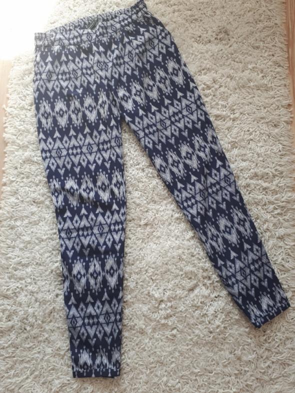 spodnie na lato haremki chinosy...