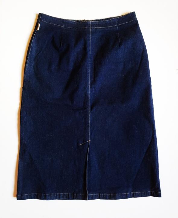 BIRGITTA Szwedzka spódnica jeansowa ołówkowa rozm C 40