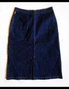 BIRGITTA Szwedzka spódnica jeansowa ołówkowa rozm C 40...