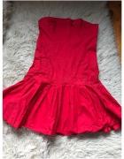 Red dress Sukienka
