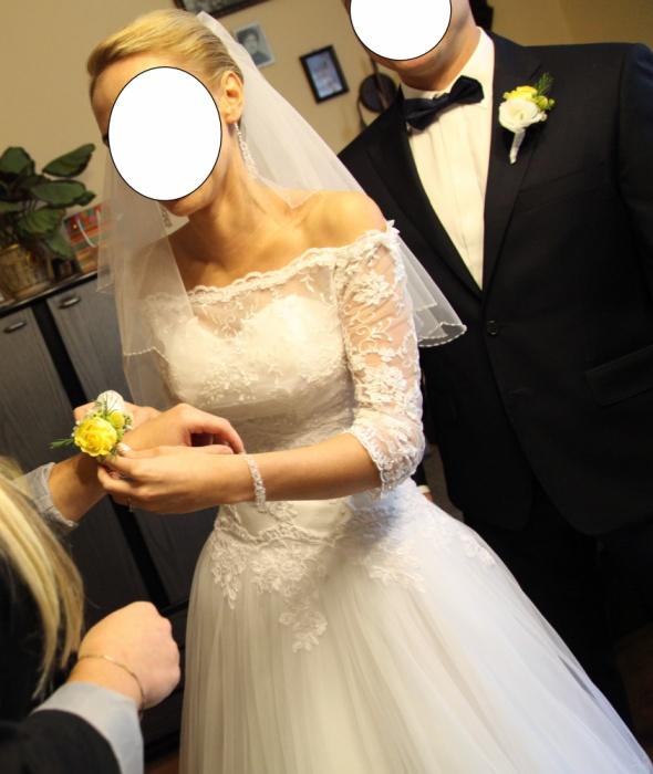 Suknia ślubna model Lubomira