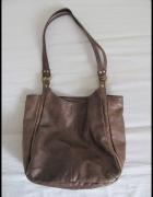 Skórzana torba damska pojemna mieści A4 Genuine Leather...