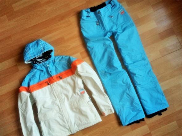 Chiemsee kurtka i spodnie narciarskie M j nowe