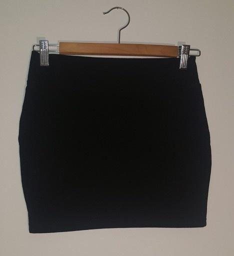 Sukienki i spódniczki Spódniczka dziewczęca bawełniana czarna r 158 160