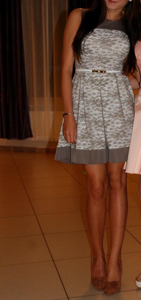 Suknie i sukienki Sukienka z koronką