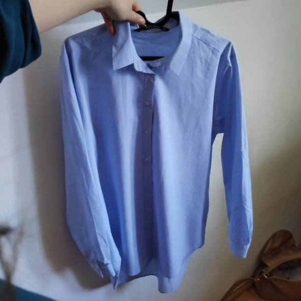 Błękitna NOWA koszula M Zara