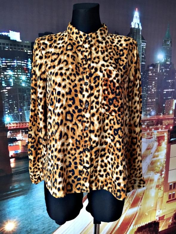 forever21 koszula modny wzór panterka luźny fason 38