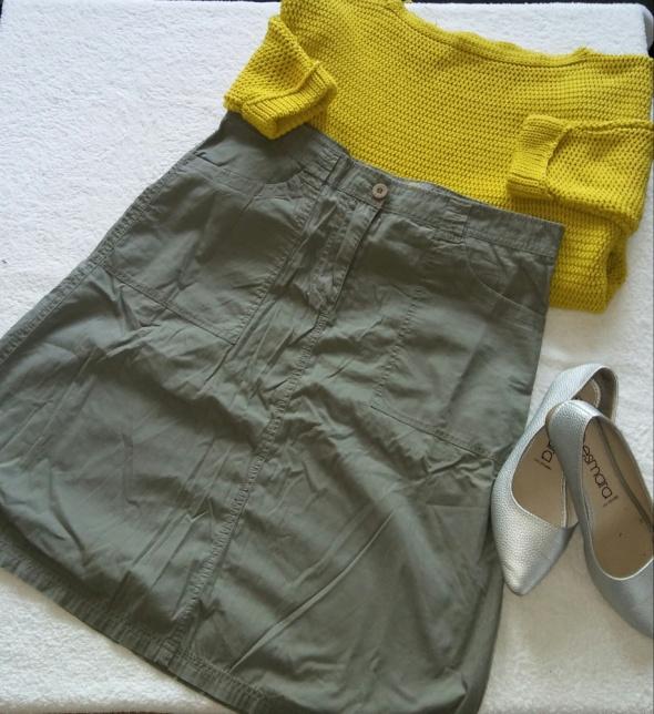 Spódnica khaki