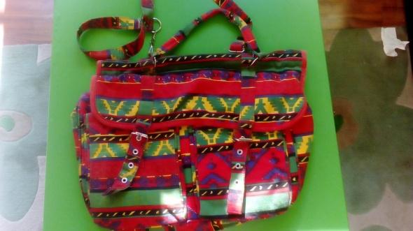 Listonoszka torebka aztecki wzór gratis druga