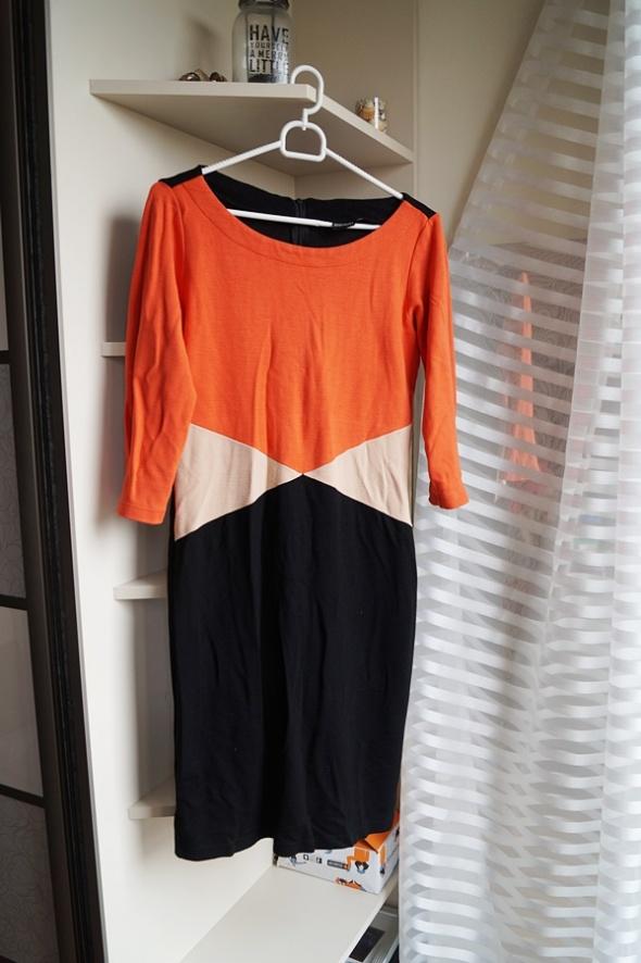 Sukienka trójkolorowa Bodyflirt L XL...