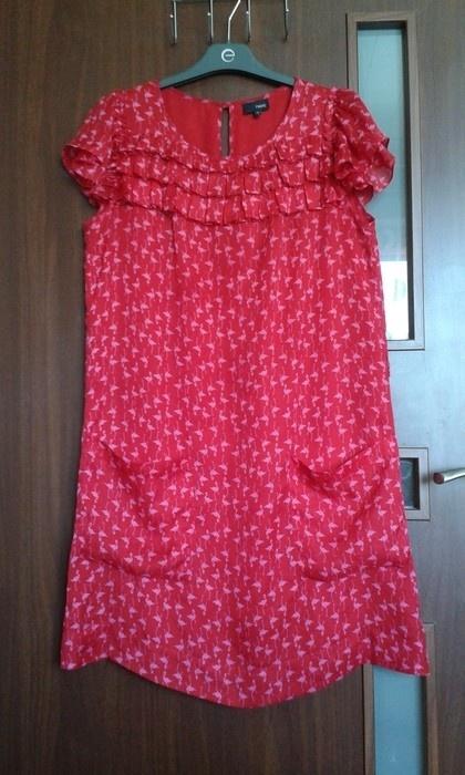 Czerwona sukienka Next