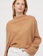 H&M sweter z kimonowym rękawem...