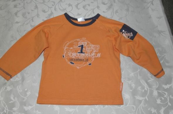 Coccodrillo pomarańczowa bluzka 86 92
