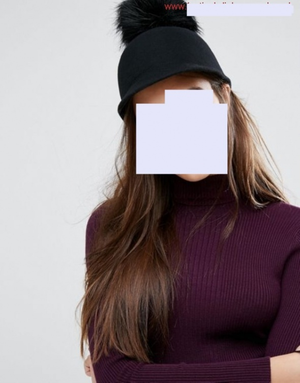 ALDO efektowna czapka toczek WEŁNA
