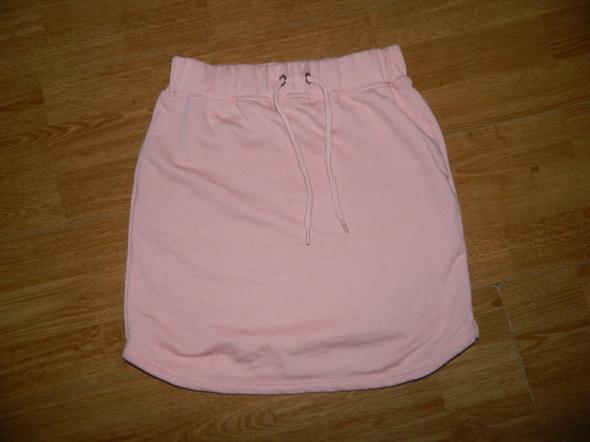 Missguided sportowa spódniczka róż roz 36