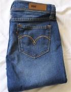 spodnie jeansy skinny Levis...