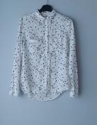 Biała koszula w gwiazdki sinsay xs...
